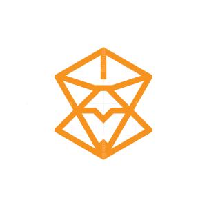 Geometric Fox Logo