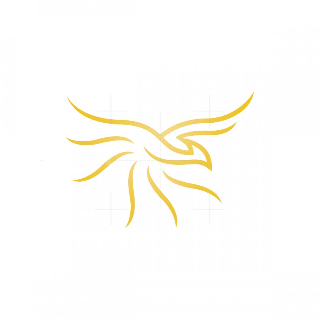 Golden Phoenix Logo