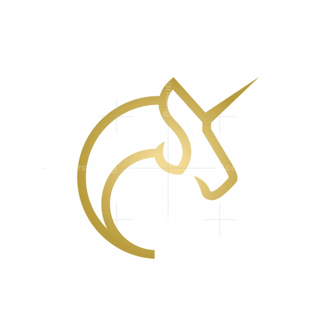 Golden Unicorn Logo