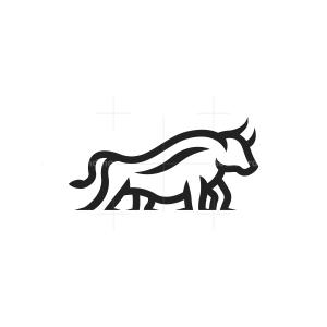 Ground Bull Logo Bull Logo