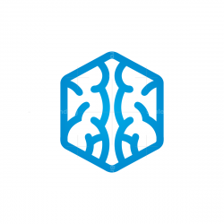 Hexagon Brain Logo