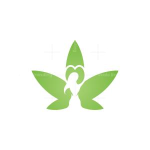 Lady Cannabis Logo
