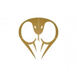 Letter C Cobra Logo
