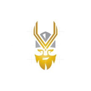 Letter V Viking Logo Viking Logo