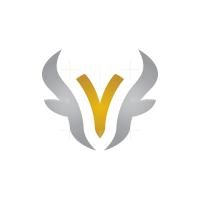 Letter Y Bull Logo
