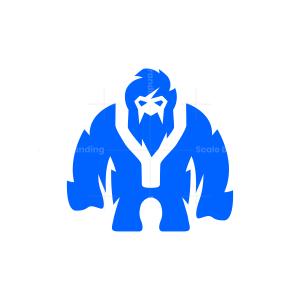 Letter Y Yeti Logo