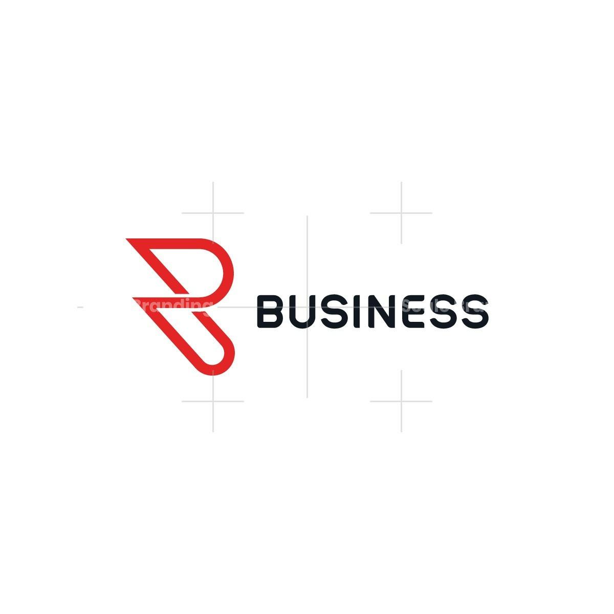 Minimalist Letter R Logo