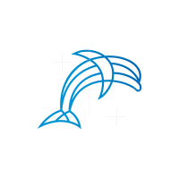 Line Dolphin Logo
