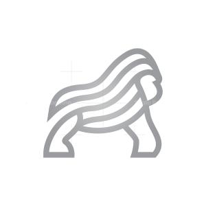 Silverback Gorilla Logo