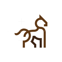 Brown Horse Logo