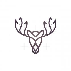 Line Moose Logo