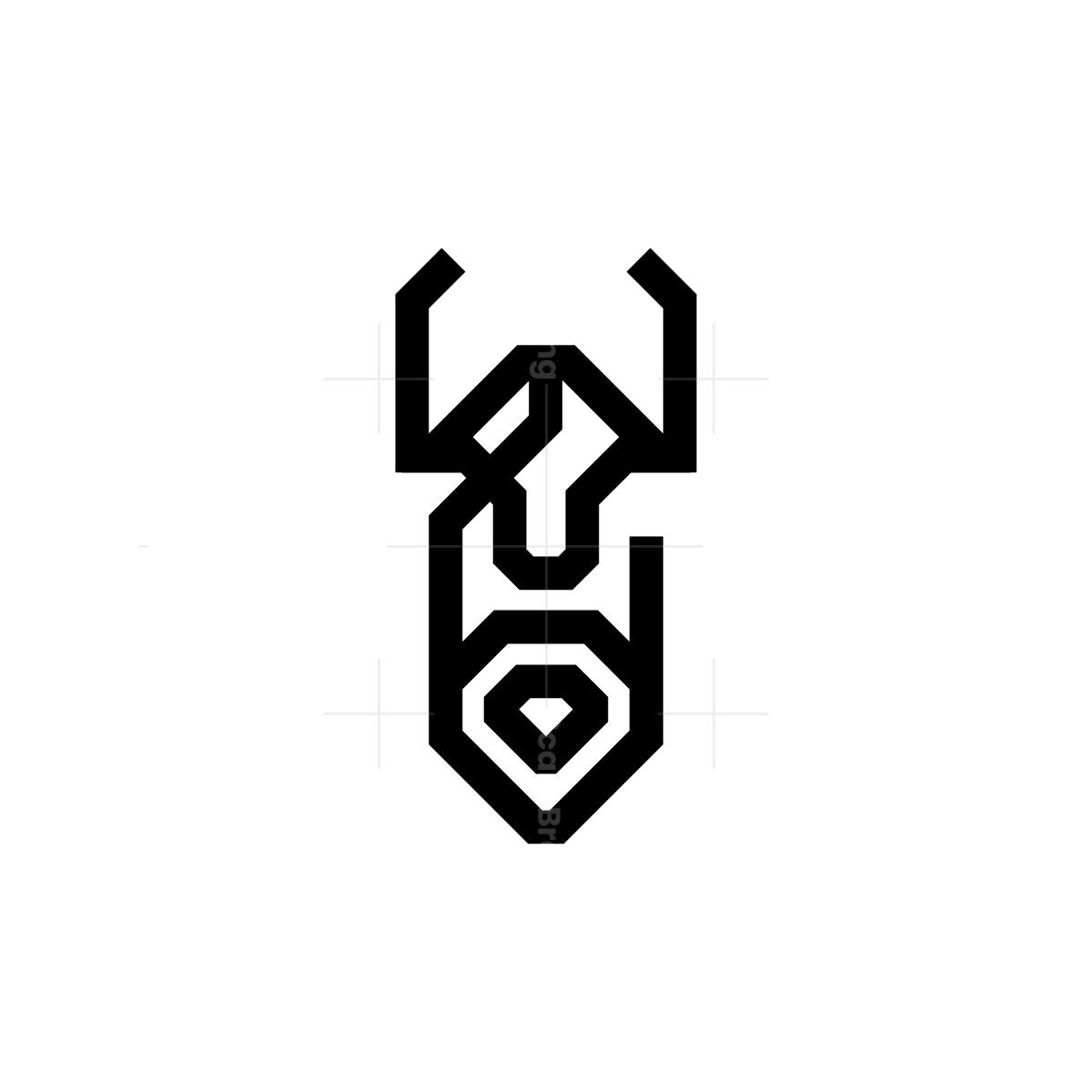 Black Odin Logo