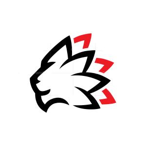 Mane Lion Head Logo