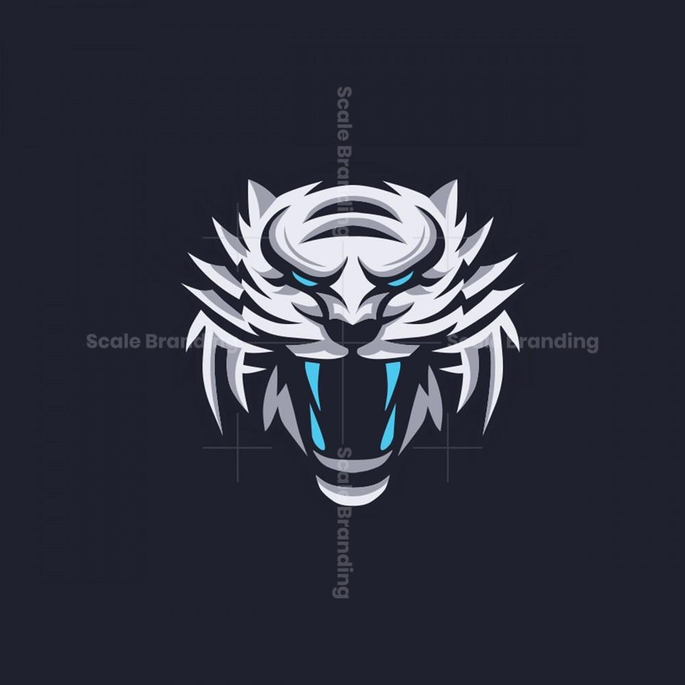 Logo Mascot White Tiger