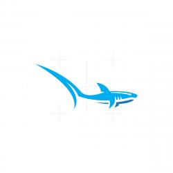 Long Tail Shark Logo