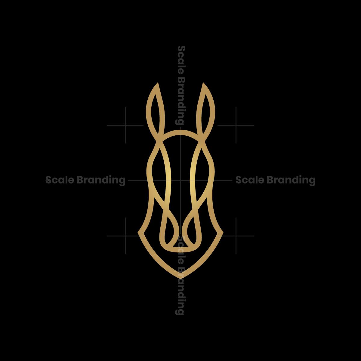 Luxury Horse Head Logo