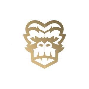 Mad Gorilla Head Logo Gorilla Logo