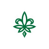 Medieval Lily Cannabis Logo Royal Cannabis Logo