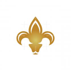 Medieval Lily Ram Logo