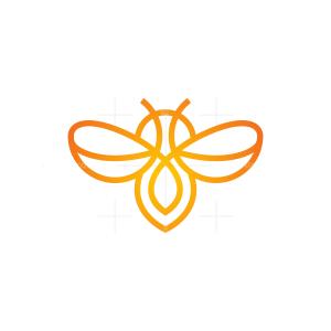 Orange Bee Logo