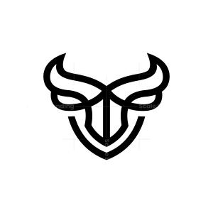 Security Bull Logo Bull Head Logo