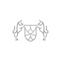 Shield Bulls Logo