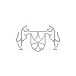 Shield Bulls Logo Bull Logo