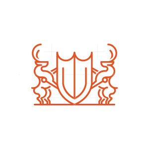 Shield Deer Logo