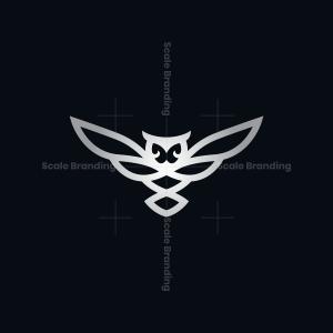 Silver Owl Logo Owl Logo