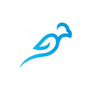 Blue Flying Eagle Logo