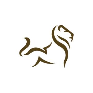 Stylized Lion Logo