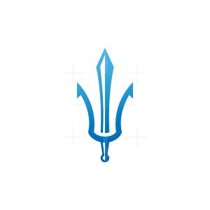 Sword Trident Logo