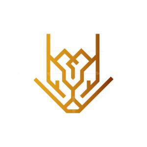 Cyber Lion Logo
