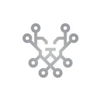 Technology Lion Logo Lion Head Logo