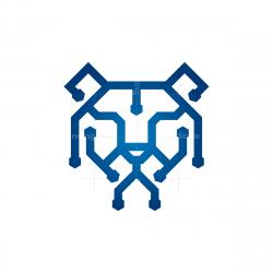 Technology Tech Tiger Logo
