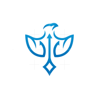 Trident Eagle Logo