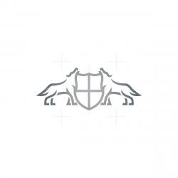 Wolves Shield Logo