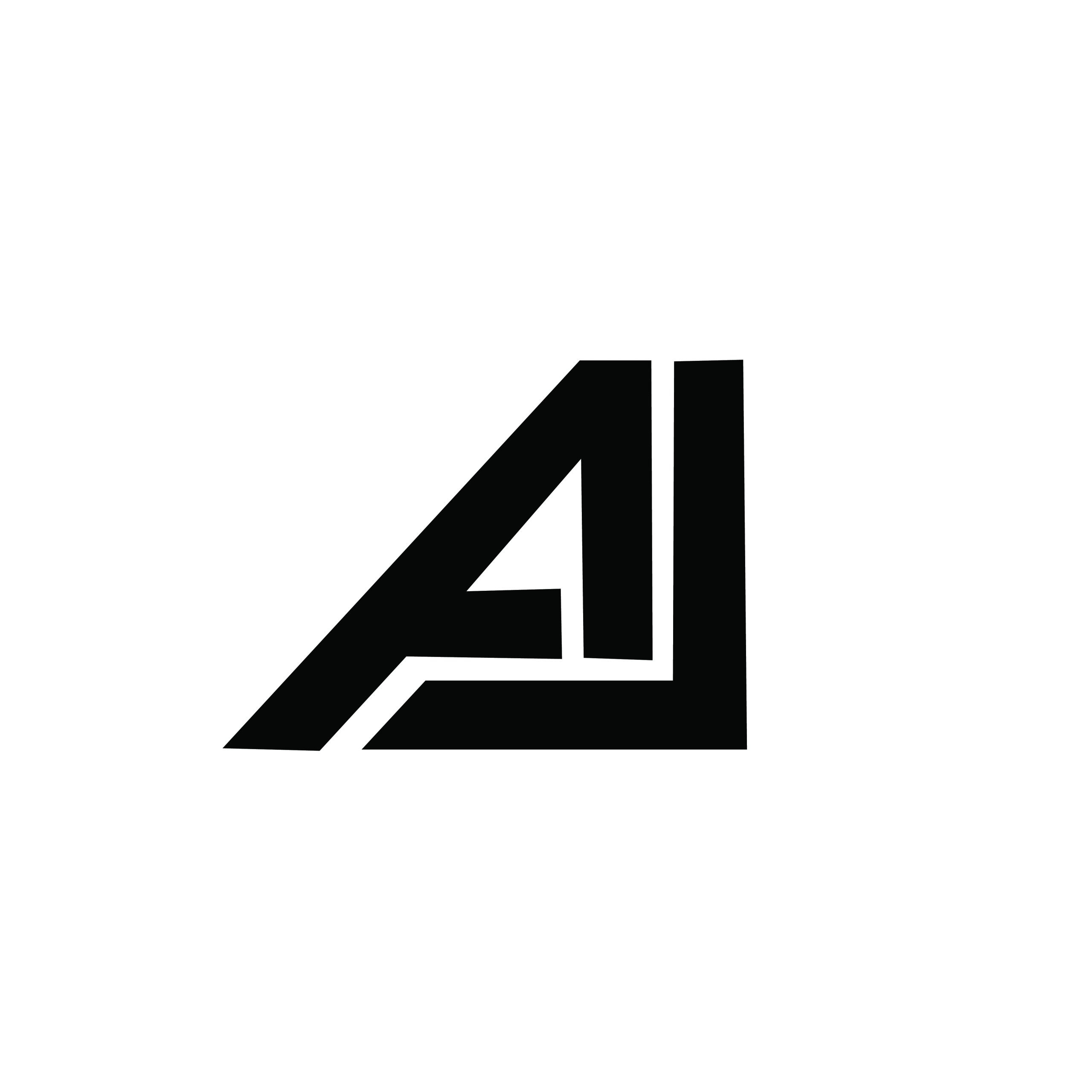 A J letter logo