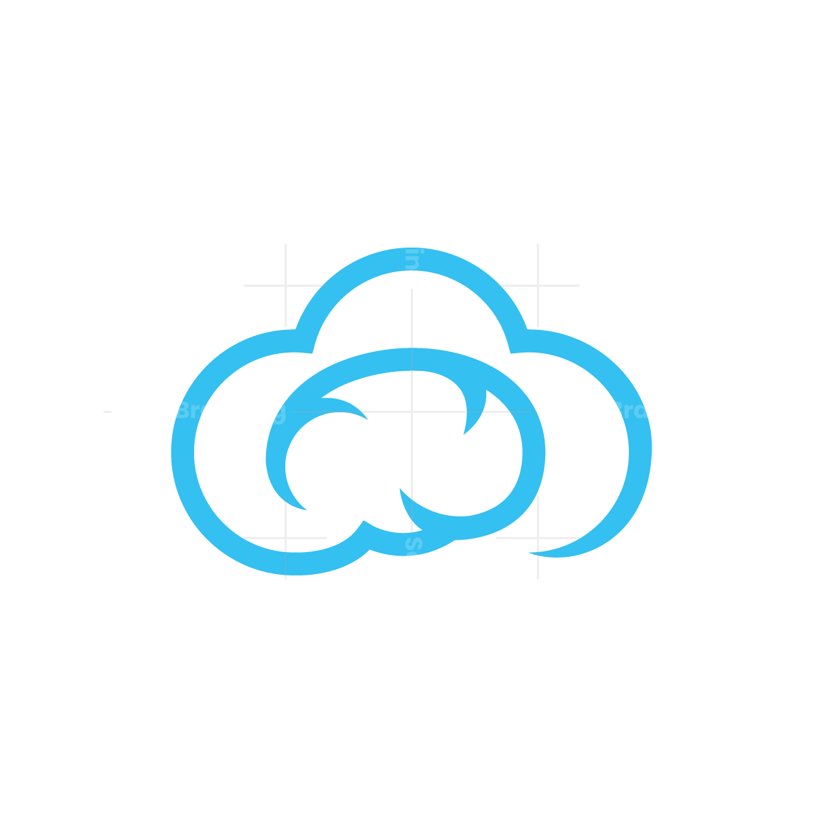 Cloud Brain Logo