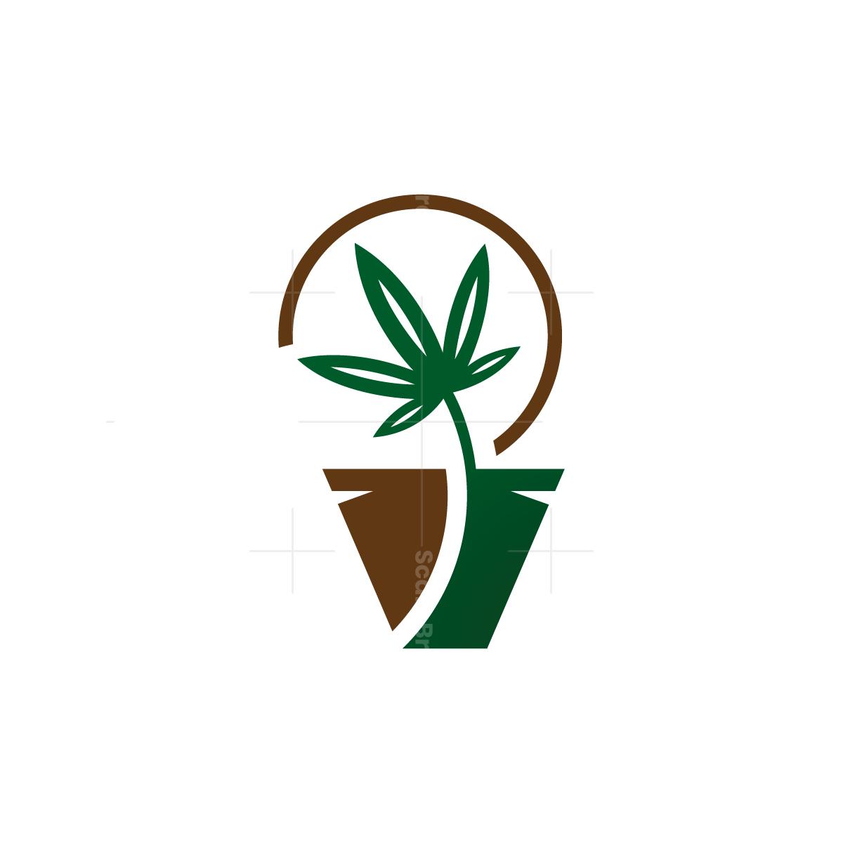 Flowerpot Cannabis Logo