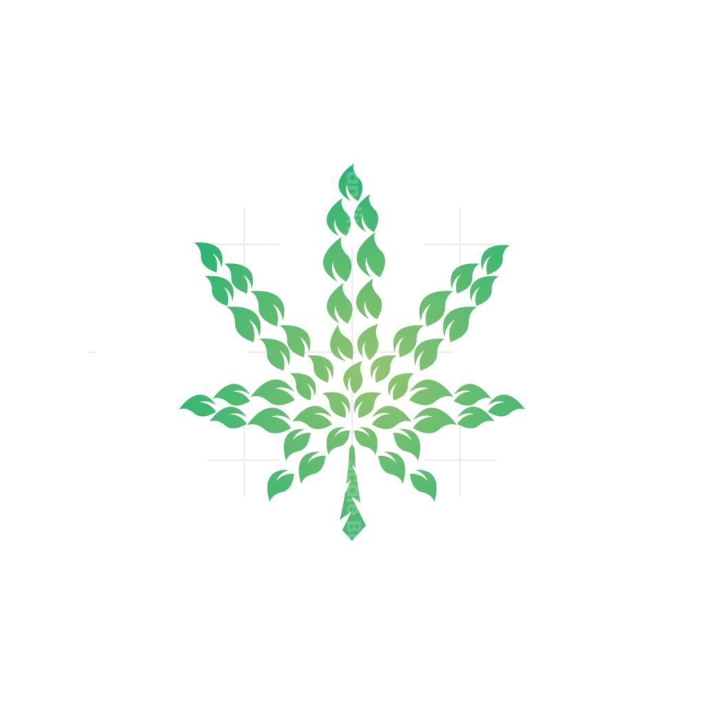 Nature Leaves Cannabis Logo