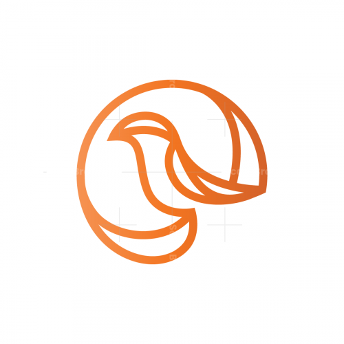 Circle Bird Logo