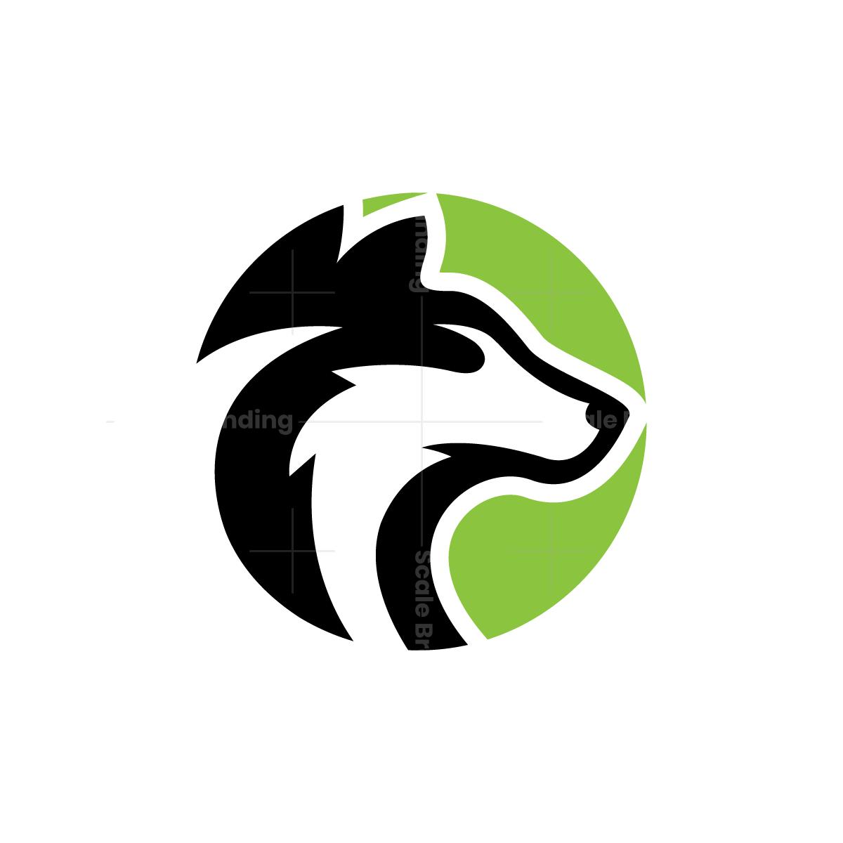 Dog Head Logo