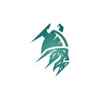 Cold Viking Head Logo