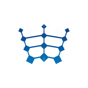 Digital Crown Logo Technology Crown Logo