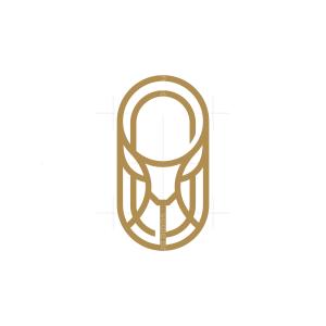 Emblem Shield Deer Logo