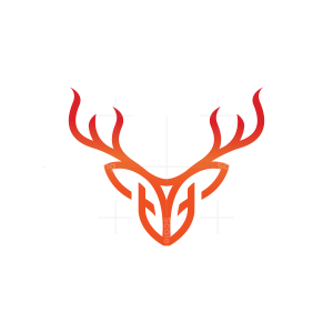 Fire Deer Logo