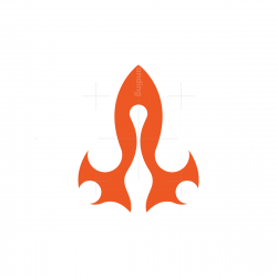 Flame Rocket Logo