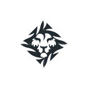 Nature Jungle Lion Logo Lino Head Logo