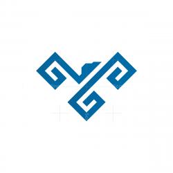 Glyph Eagle Logo